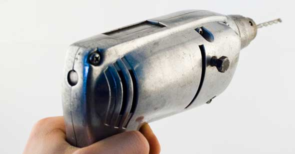 Boremaskine eller batteriboremaskine - skruemaskine